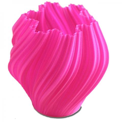 Roze vaas (3D-print)